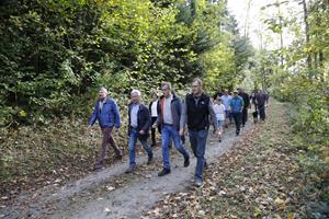 FBP Schellenberg lud zu einer Waldexkursion
