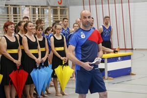 Generalprobe für die Gymnastrada in Dornbirn