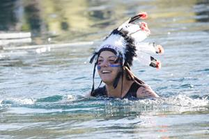 Neujahrsschwimmen im Grossabüntsee