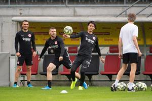 Abschlusstraining Eintracht Frankfurt