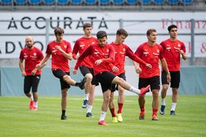FC Vaduz Training
