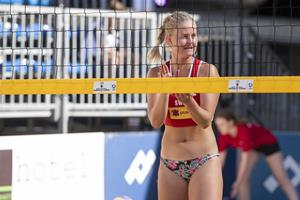 Beachvolleyball Turnier in Vaduz -Damen